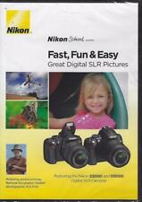 DVD:   NIKON SCHOOL FAST, FUN & EASY DIGITAL SLR PICTURES.....NEW