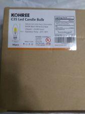 Kohree C35 Led Candle Bulb 4w 5000k Warm White
