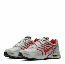 Nike Air Max Tourch 4 Running Shoes Gray Red Black CI2202-001 Men's NEW