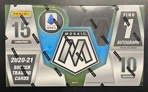 2020/2021 Panini Mosaic Serie A Hobby Box (factory sealed)
