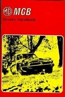 Mgb Owners Manual 1975 Mg Drivers Guide Book Handbook 75 Owner Gt Mgbgt