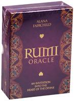 RUMI ORACLE Tarot CARD DECK + Booklet BLUE ANGEL