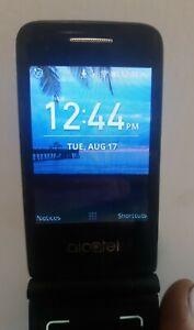 Unlocked Alcatel Kai OS Flip Phone - Good Condition, Media Storage 2.5GB