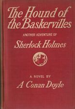 THE HOUND OF THE BASKERVILLES-A. CONAN DOYLE-1902-FIRST EDITION!