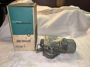 NOS 1955-1957 Chevy Bel Air Electric Wiper Motor w/ slow park 5044280