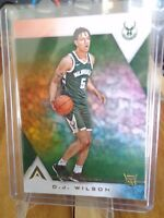 2017-18 PANINI ASCENSION D.J. WILSON RC  CARD No.109 ! BUCKS !