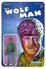 "Wolf Man 3.75 "" ReAction Figure Universal Monsters Series 05WSU01"