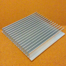 5 inch Heat Sink Aluminum (5.0 x 4.85 x 0.8) inches. Low Thermal Resistance.