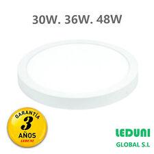 Plafón LED circular DOWNLIGHT SUPERFICIE 30W / 36W / 48W  Garantía 3 años