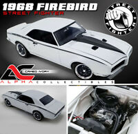 ACME A1805212 1:18 1968 PONTIAC FIREBIRD STREET FIGHTER (CAMEO IVORY)