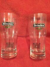 Pair Of Heineken Beer Ruby World Cup 2007 Pint Glasses NEW Holland