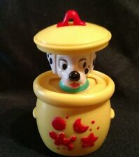 DISNEY/McDonalds 101 DALMATIONS push-up toy/Ornament PUP in COOKIE JAR EASTER