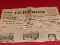 """[PRESSE WW2 APRES GUERRE] """"LE PARISIEN LIBERE"""" #  571 / 16/17 JUIN 1946"""