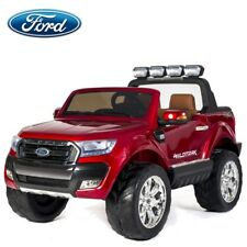 Véhicule électrique enfant nouveau Ford ranger 2X12V rouge métal avec écran LCD