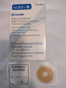 "ConvaTec Eakin Cohesive Seals, #839002, 1 7/8""(45mm), Box of 20, New"