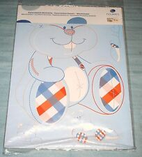 Stickers déco Noukies William et Henry bleu