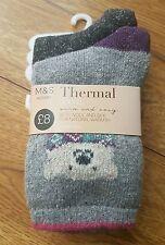 Marks and Spencer Women's Multipack Socks 2-3 Number in Pack
