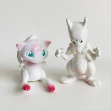 TOMY Mew & Mewtwo Original NINTENDO Pokemon Toy 2 Figure Bundle