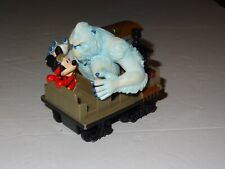 New listing Disney Mickey Mouse & Yeti Animal kingdom Exped Everest Pull-Back Train Toy