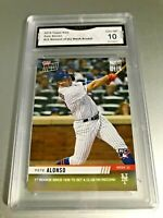 PETE ALONSO ROOKIE CARD 2019 Topps Now #22 GMA Graded 10 Gem Mint