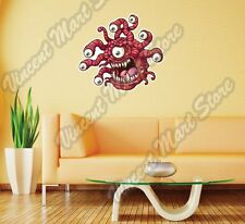 """Scary Monster Eyes Angry Cartoon Gift Wall Sticker Room Interior Decor 22""""X22"""""""