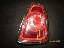 08 09 10 MINI COOPER S R56 R LED TAIL LIGHT OEM #7255914-04 XX-1065 *See item*