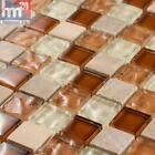 mosaïque sa COMA VERRE PIERRE NATURELLE carreau / mat 29,5 x 29,5 x 0,8 cm