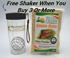 Banana Beach Detox Polvo 100g-orgánicos Fibra Suplemento