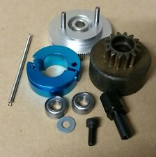 1/10 RC Nitro Clutch Flywheel Kit 2 Shoe Silver