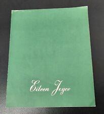 Eileen Joyce Classical Pianist Recital Tour Programme 1948-1949 UK