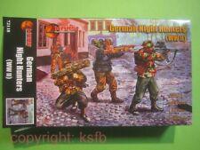 NEU 1:72 Mars # 72118 WKII Deutsche Nachtjäger Soldaten Figuren Night Hunters