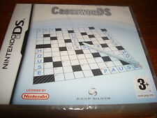 CROSSWORDS ** NEW & SEALED **  Nintendo Ds Game