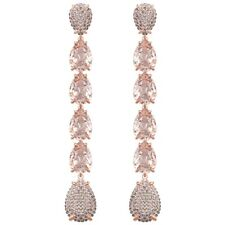 Swarovski MIX PIERCED EARRINGS, PINK, ROSE GOLD  Authentic 5427953