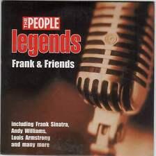 LEGENDS: FRANK SINATRA & FRIENDS - PROMO CD: VIC DAMONE, LOUIS ARMSTRONG ETC