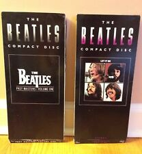 The Beatles - Let It Be & Past Masters - Original longboxes - No CD's - Rare