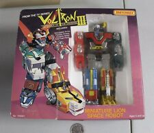 RARE 1985 VOLTRON Miniature Lion Force MISB MOC NOS HTF cartoon VTG MINT 1980s