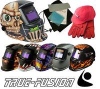 Auto Darkening Solar Welding Welders Helmet Mask with Grind Mode