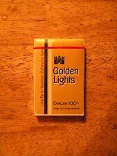 PLAYING CARDS NEW DECK PACK VINTAGE GOLDEN LIGHTS CIGARETTE ADVERTISING