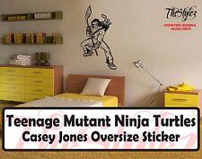 Teenage Mutant Ninja Turtles Casey Jones Wall Vinyl Sticker