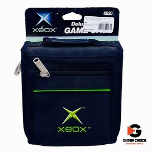 Original Official Microsoft Xbox 20 Game Discs or DVD Movies Travel Storage Case