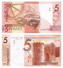 Belarus 5 Rubles 2009  P-New Banknotes UNC