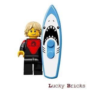 LEGO Minifiguren 71018 - Serie 17 -  Profi-Surfer  + M17 F1 +