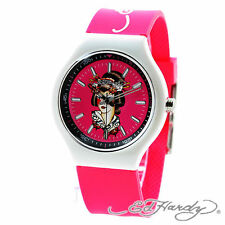 Ed Hardy Women's Neo Pink Quartz Watch