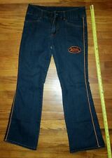 Von Dutch Denim stretch spandex Jeans Womens 9/10 Boot Cut USA STYLISH country