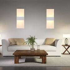 Moderne 2x 6W LED Wandleuchte Wandlampe Korridor Lampen Leuchten Effektlampe DHL