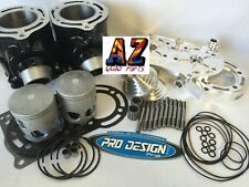 Banshee 350 Stock Bore Pistons Cylinders Top Rebuild Kit Pro Design Cool Head