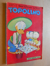 Topolino Libretto n°189 anno 1958 con BOLLINO [G350] - BUONO -