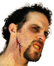 Hate Eruption Latex Appliance Halloween Stitches Wound Gash Prosthetic Make-up