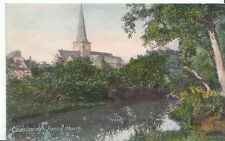 Surrey Postcard - Godalming Parish Church   P800