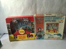 1977 STARSKY AND HUTCH POLICE TARGET RANGE GAME NOT COMPLETE OR WORKING